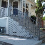 Simple Round Knuckle Stair Railing