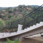 Exterior Iron Stair Railing