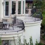 Solid Forged Barrel Balcony