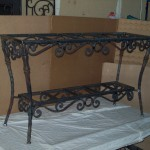 Iron Forged Table
