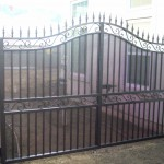 Screen Iron Gate with Spears
