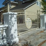 Custom Made Entry Iron Gate