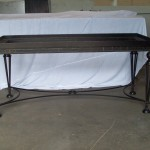 Ornamental Iron Table