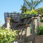 Iron Trellis Down View