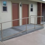 Commercial Iron Handrail