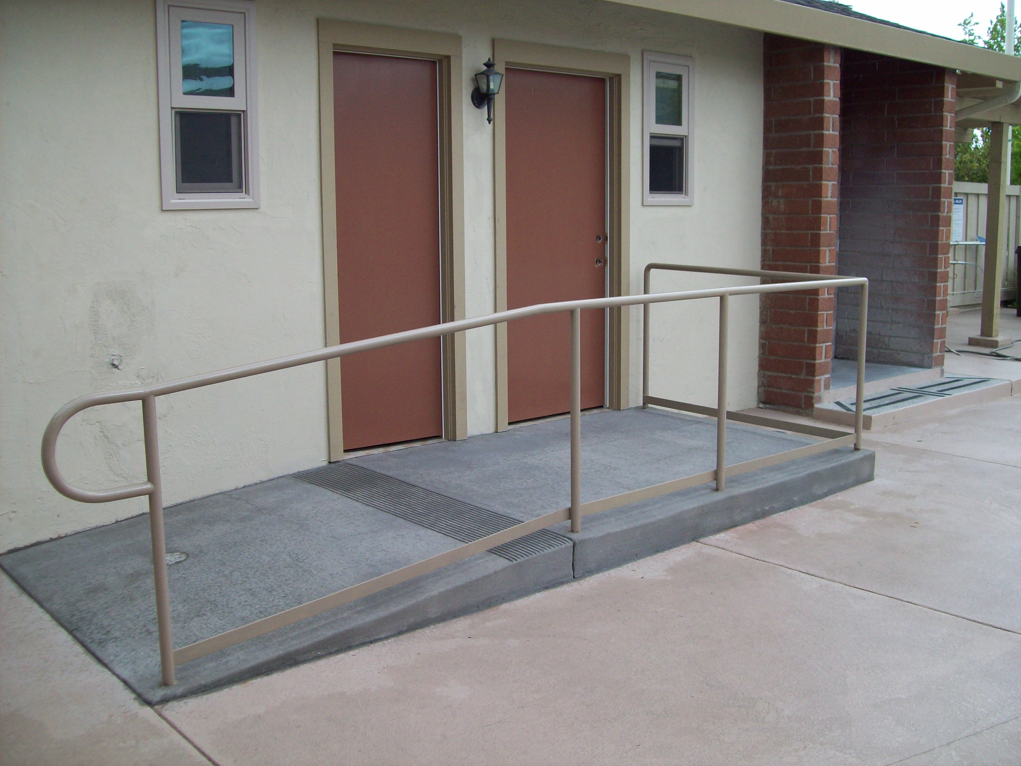 Railings 187 V Amp M Iron Works Inc In The San Jose Bay Area