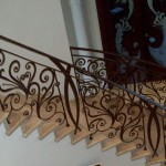 Forged Stair Railing