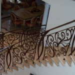 Forged Iron Stair Railing