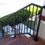 Restaurant Iron Railing