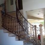 Ornamental Iron Stair Railing
