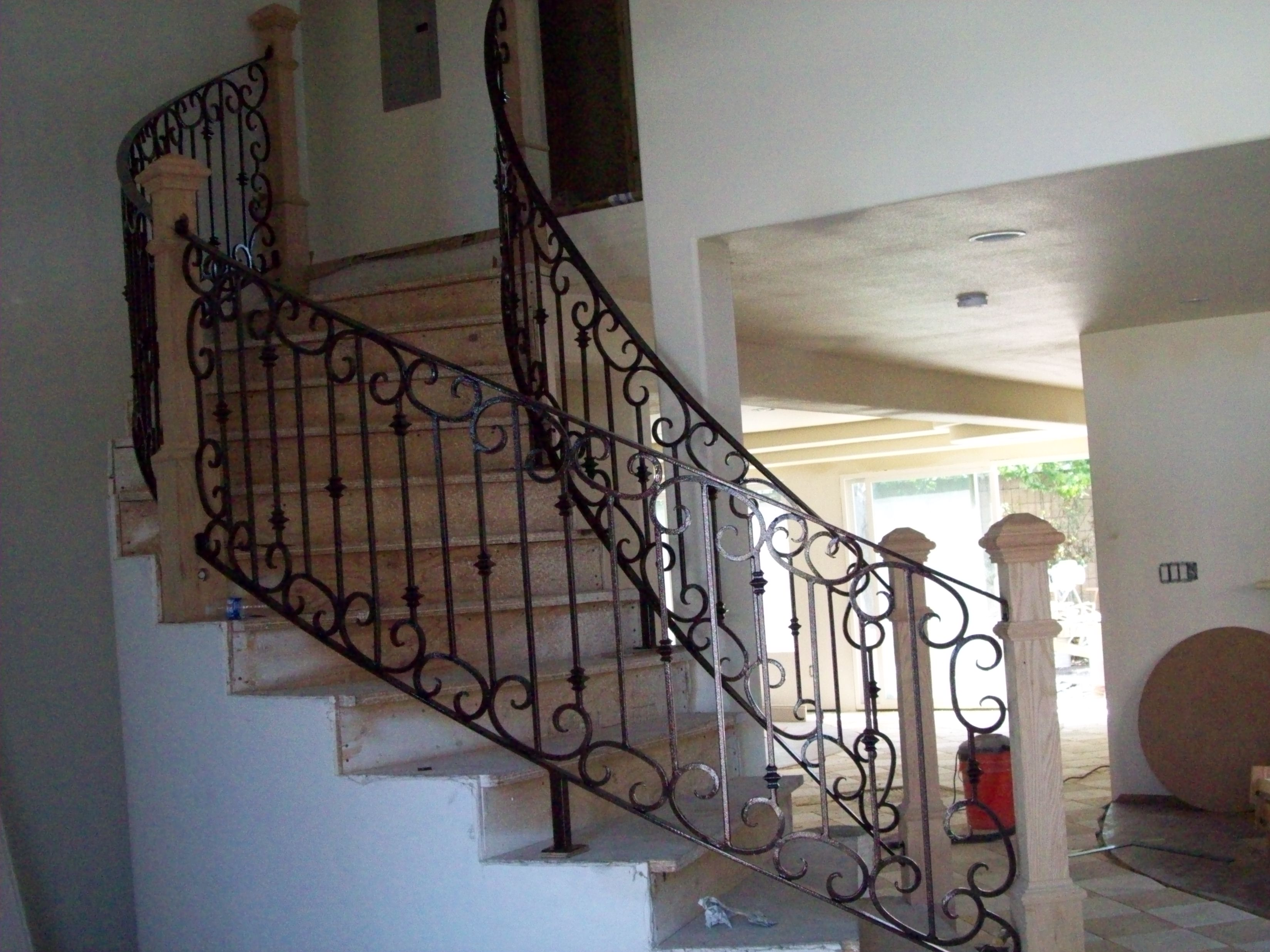 Spiral Staircases » V & M Iron Works Inc. In The San Jose