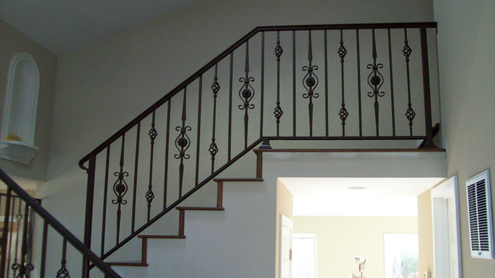 Stairs v m iron works inc in the san jose bay area Decorative railings