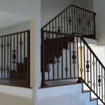Ornamental Iron Picket Railing