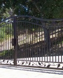 Iron Leaf Gate