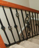 Wood And Iron Railing