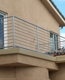 Simple Horizontal Balcony