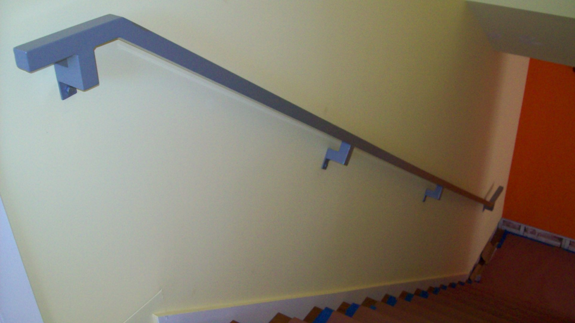 Handrail 5 Wall Mounted Stairwells Pinterest