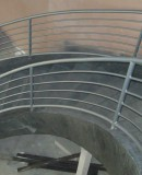 Lunar Iron Stair Railing