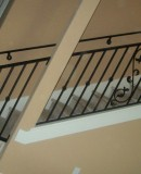 Scroll Iron Railing