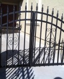 Small Simple Iron Gate