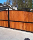Iron Frame For Wooden Gate