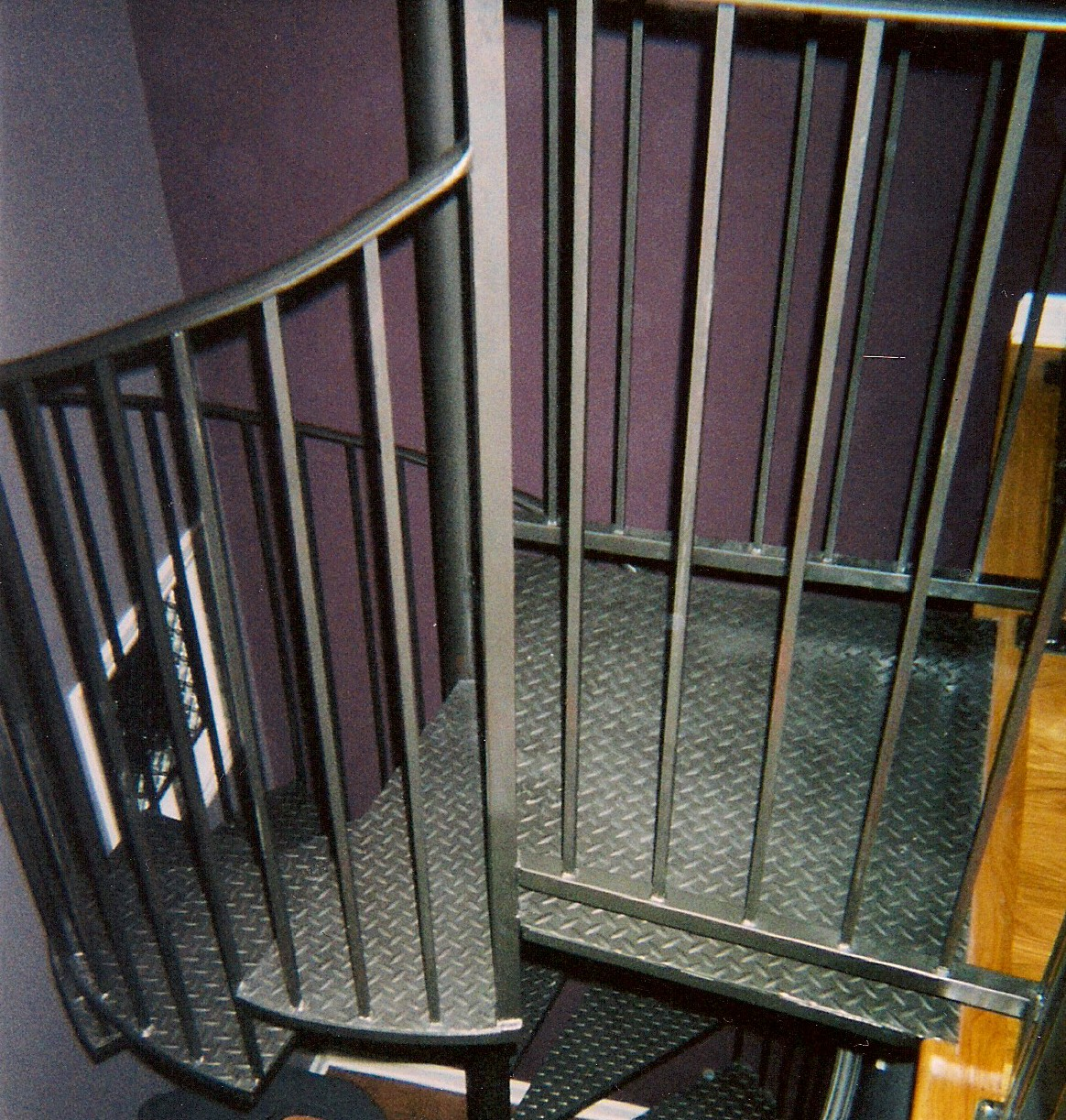 Spiral Staircases 187 V Amp M Iron Works Inc In The San Jose