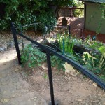 Iron Handrails With Molding
