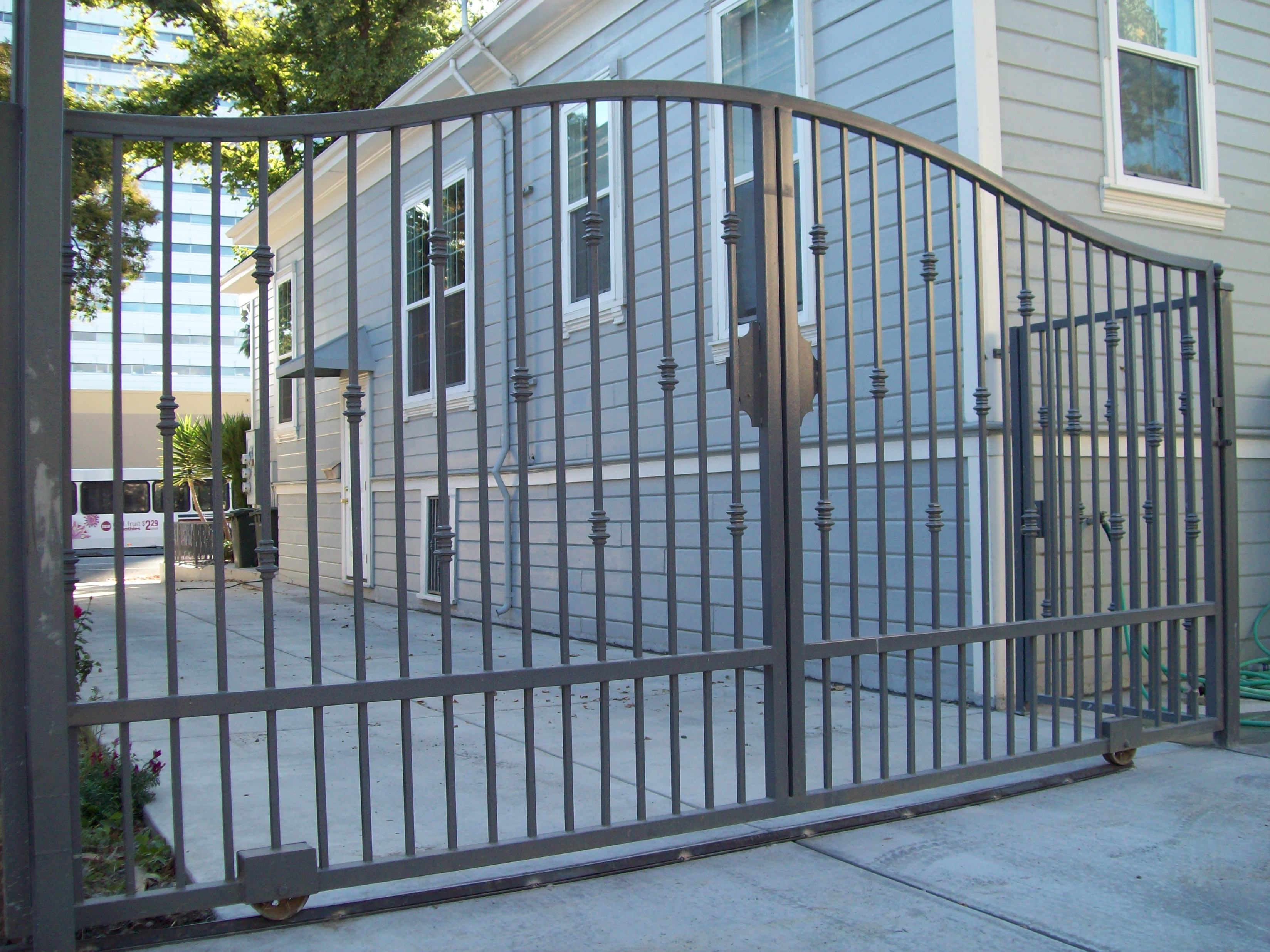 Wrought Iron Gates: Gates » V & M Iron Works Inc. In The San Jose Bay Area
