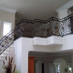 Iron Forged Staircase Railing