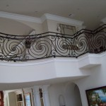Ornamental Spiral Balcony