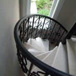 Spiral Staircase Iron Railing