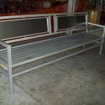 Commercial Iron Bench