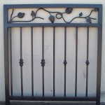 Iron Panel with Leaves And Knuckles