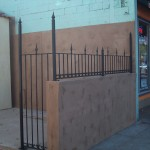 Iron Fence With Spears