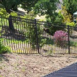 Iron Fence With Ring Design