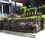 Commercial Iron Fencing With Spears