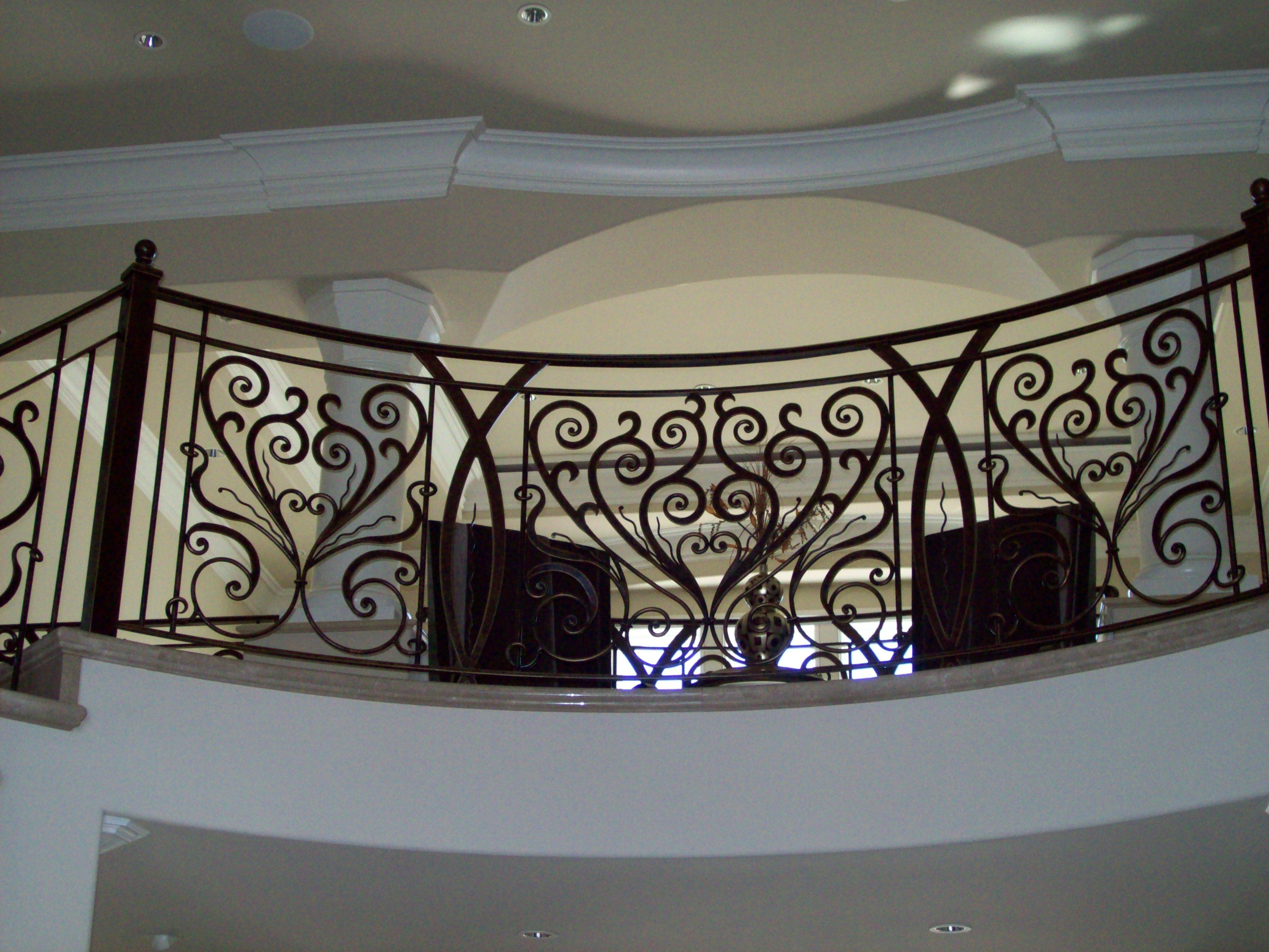 Interior Ornamental Iron WorkVM Iron works inc in the San