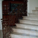 Custom Made Iron Railing Panels
