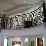 Curved Iron Balcony