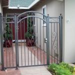 Small Arch Iron Door