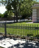 Iron Fence With Spares,Knuckles&Rings