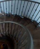Spiral Iron Staircase With Knuckles